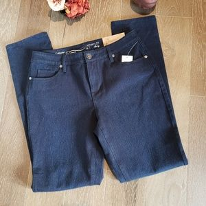 NWT Coldwater Creek Natural Fit Slim Leg Jeans 6